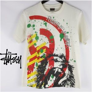 STUSSY | 'POSITIVE VIBRATION' LION TEE